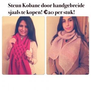 Steun Kobane vluchtelingen