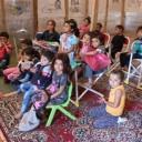 Schoolbus voor kleuterschool in Kobane